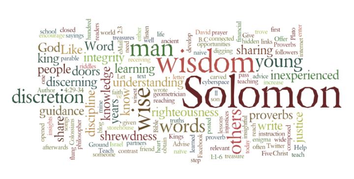 Wordle Solomon 750x380